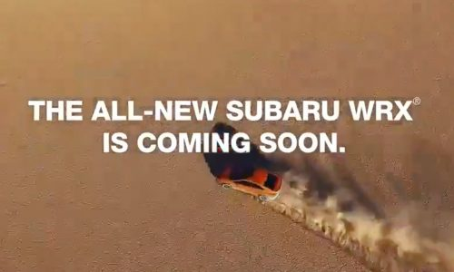 2022 Subaru WRX previewed again, manual confirmed (video)
