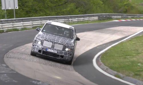 2023 BMW X8 prototype spotted, pushing hard at Nurburgring (video)