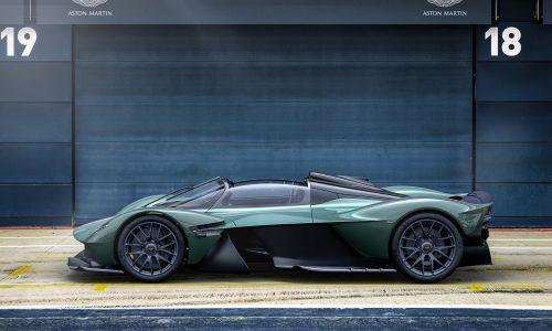 Aston Martin Valkyrie Spider revealed, 11,000rpm V12