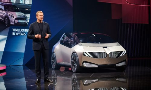 BMW: 50% electric vehicles by 2030, debuts i Vision Circular concept