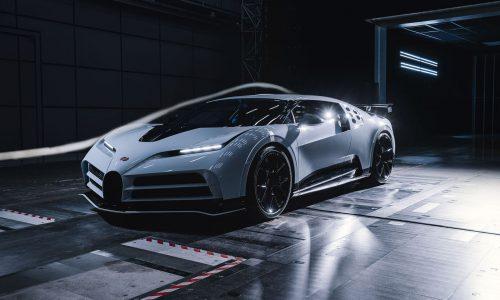 Bugatti Centodieci completes 300km/h wind tunnel tests (video)