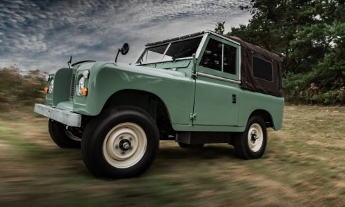 Everrati unveils electric-converted classic Land Rover Series IIA, 201km range