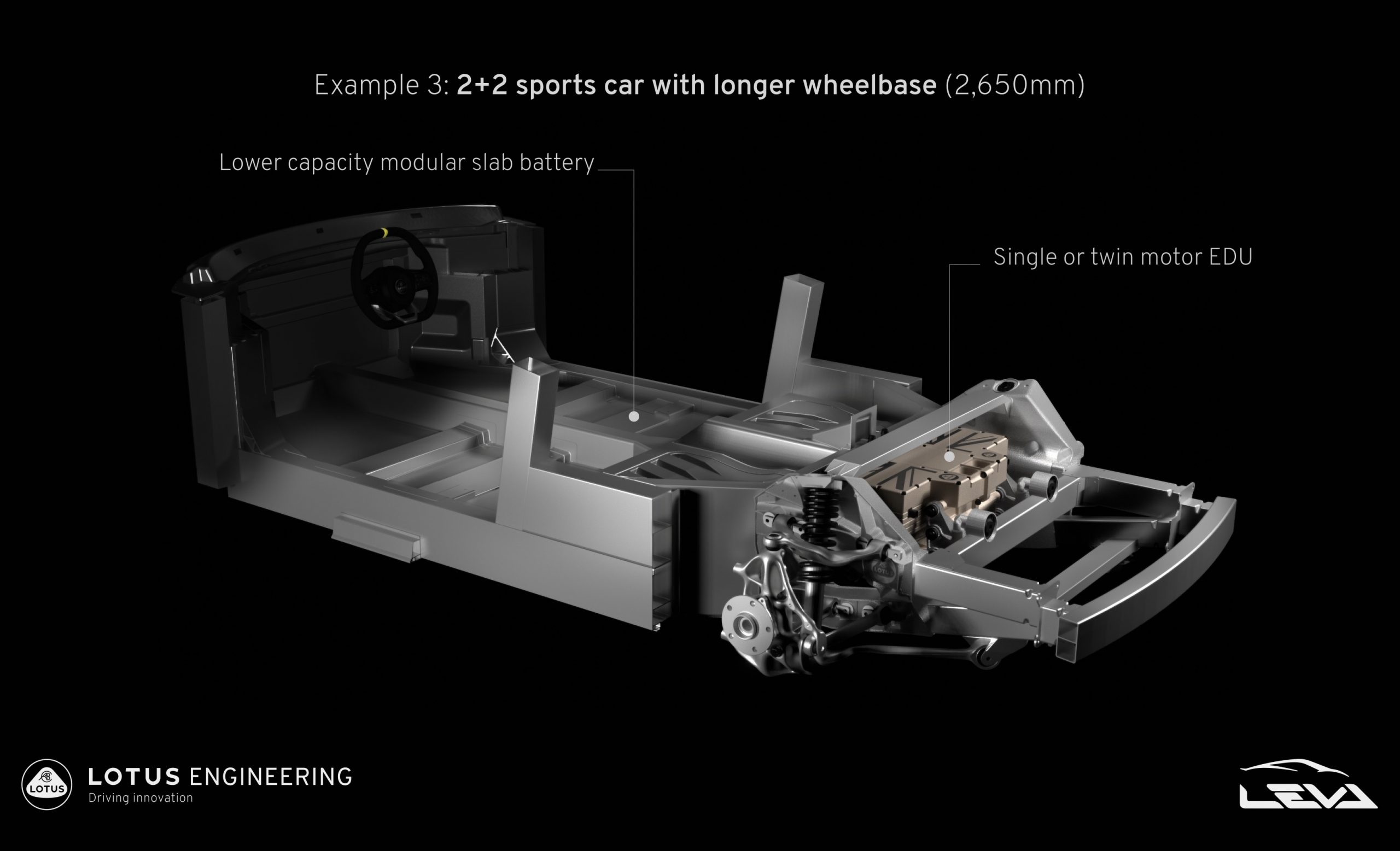 Lotus shows new 'LEVA' architecture, for future electric sports cars -  PerformanceDrive