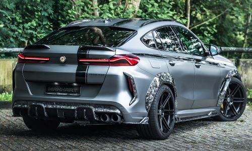 Manhart debuts insane 'MHX6 700WB' forged-carbon kit for BMW X6 M