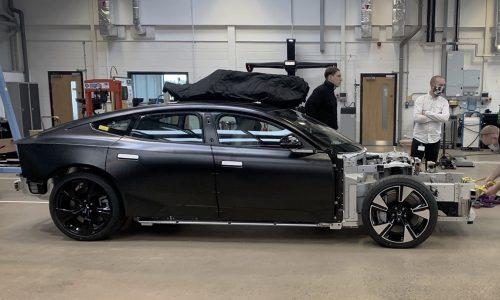 Polestar doubles R&D team in UK, previews new Model S rival