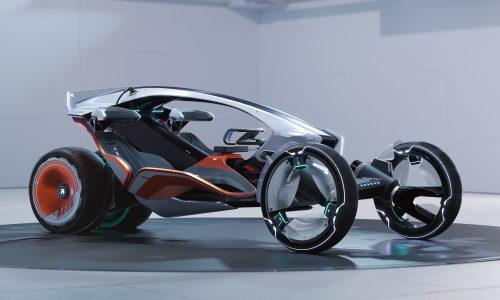 SAIC Design & MG reveal two futuristic concepts: MAZE, R RYZER