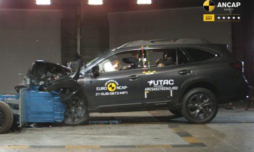 2021 Subaru Outback, Toyota Mirai score 5-star ANCAP rating