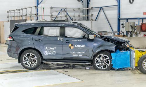 2022 Isuzu MU-X, Toyota Yaris Cross score 5-star ANCAP rating