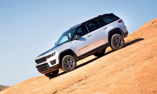 2022 Jeep Grand Cherokee unveiled, debuts 4xe plug-in hybrid option