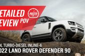 Video: 2022 Land Rover Defender 90 D200 –Detailed review (POV)