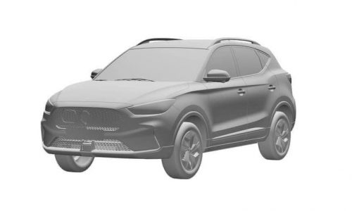 2022 MG ZS facelift previewed via patent images, EV to offer 350km range