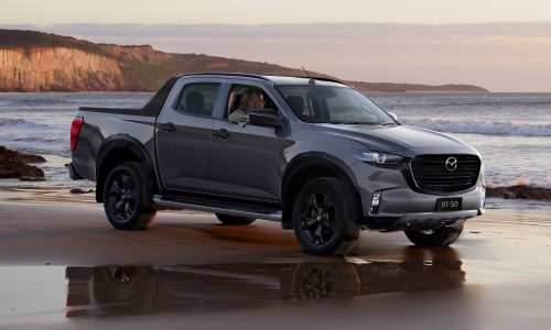 2022 Mazda BT-50 update adds SP variant, new XS with 1.9TD
