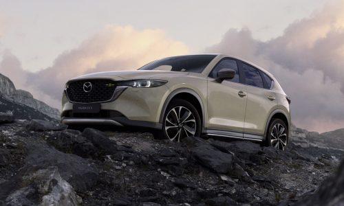 2022 Mazda CX-5 revealed; updated design, improved dynamics