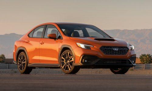 2022 Subaru WRX revealed, 2.4 turbo engine confirmed