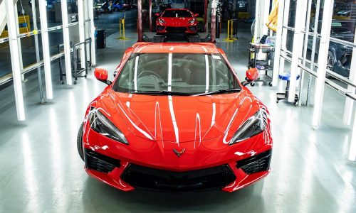 First GMSV RHD Chevrolet C8 Corvette is ready for Australia