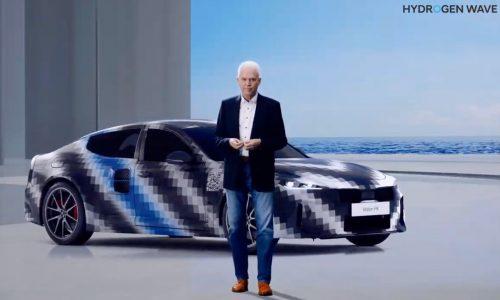 Hyundai outlines Hydrogen Vision 2040, previews 500kW Vision FK sports car