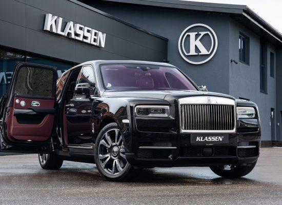 Klassen offers bullet-proof armoured Rolls-Royce Cullinan from $1.3m
