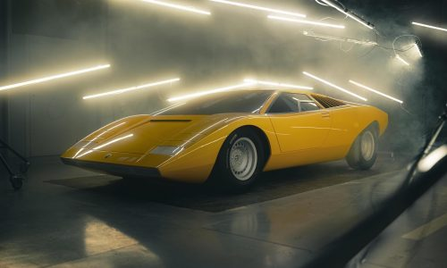 Lamborghini reconstructs first Countach LP-500 concept from 1971