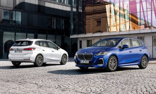 2022 BMW 2 Series Active Tourer revealed, up to 240kW PHEV