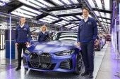 BMW i4 production commences in Germany, arrives in Australia Q1 2022