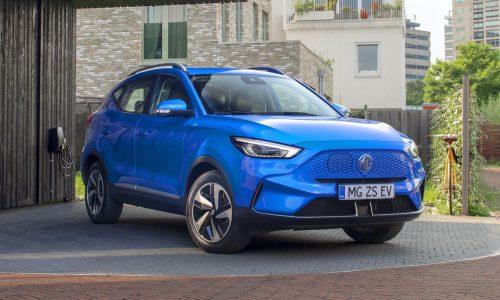2022 MG ZS EV revealed, new 72kWh battery brings 439km range
