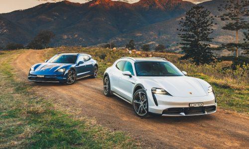 2022 Porsche Taycan Cross Turismo announced for Australia