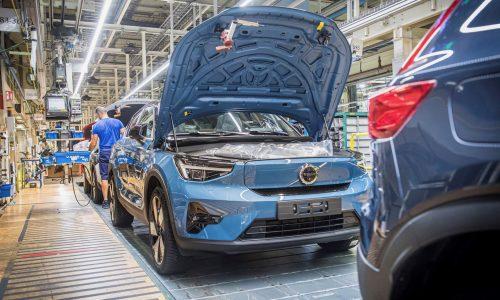300kW Volvo C40 Recharge EV production commences in Belgium