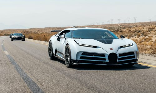 Bugatti Centodieci completes extreme hot weather testing in USA
