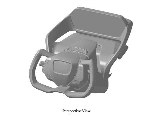 Toyota files design patent for yoke steering wheel in Australia, for bZ4X