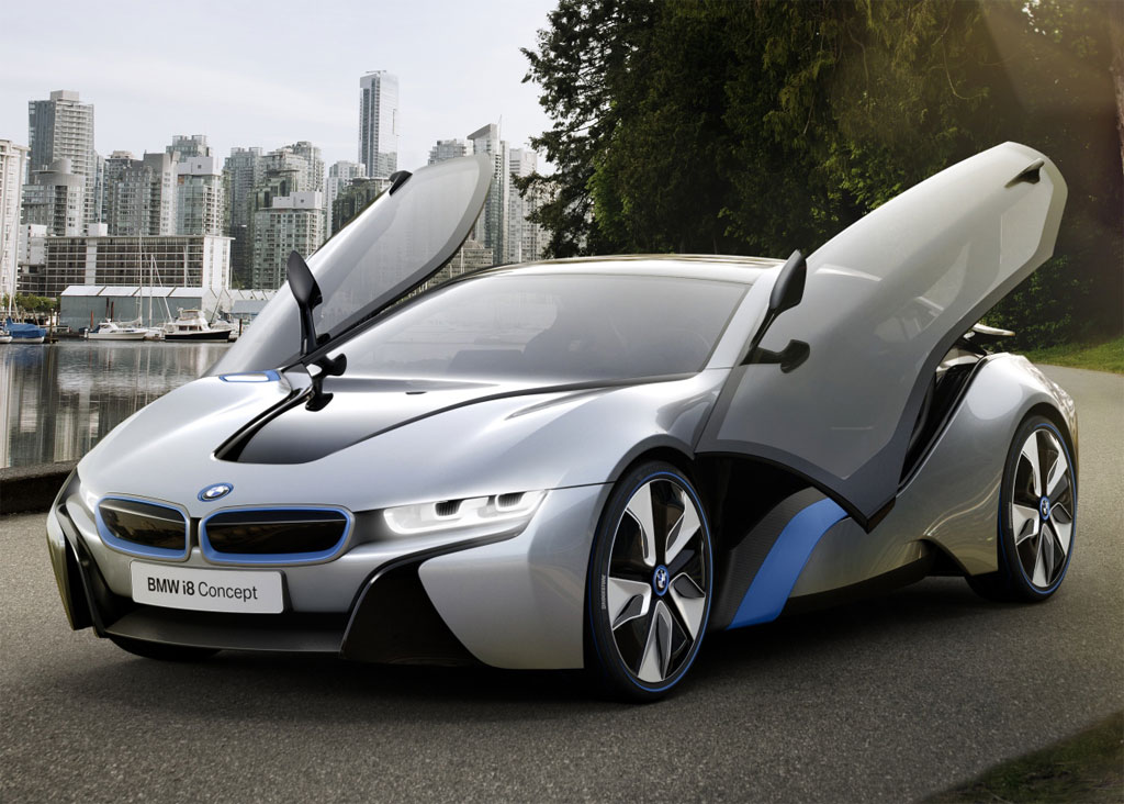 Bmw concept car commercial