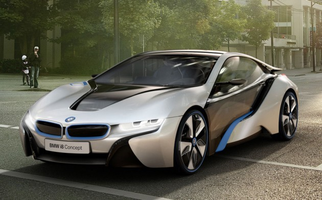 BMW i8 Concept unveiled | PerformanceDrive