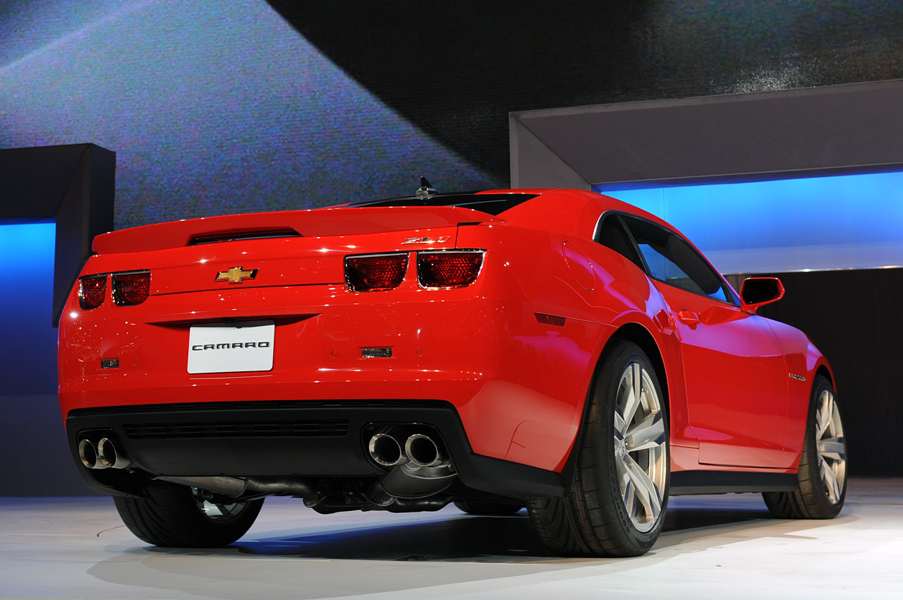 2012 Chevrolet Camaro Zl1 To Get 570hp Plus 425kw
