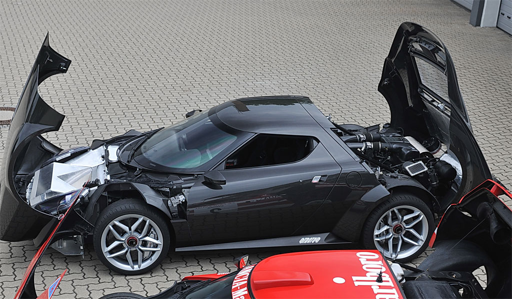 New Lancia Stratos Production Blocked By Ferrari