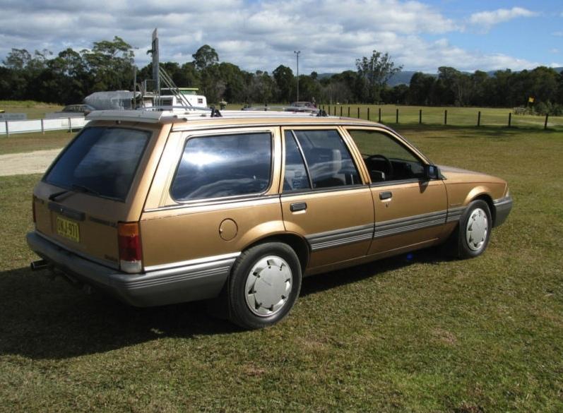 Holden Commodore Vl Turbo Wagon