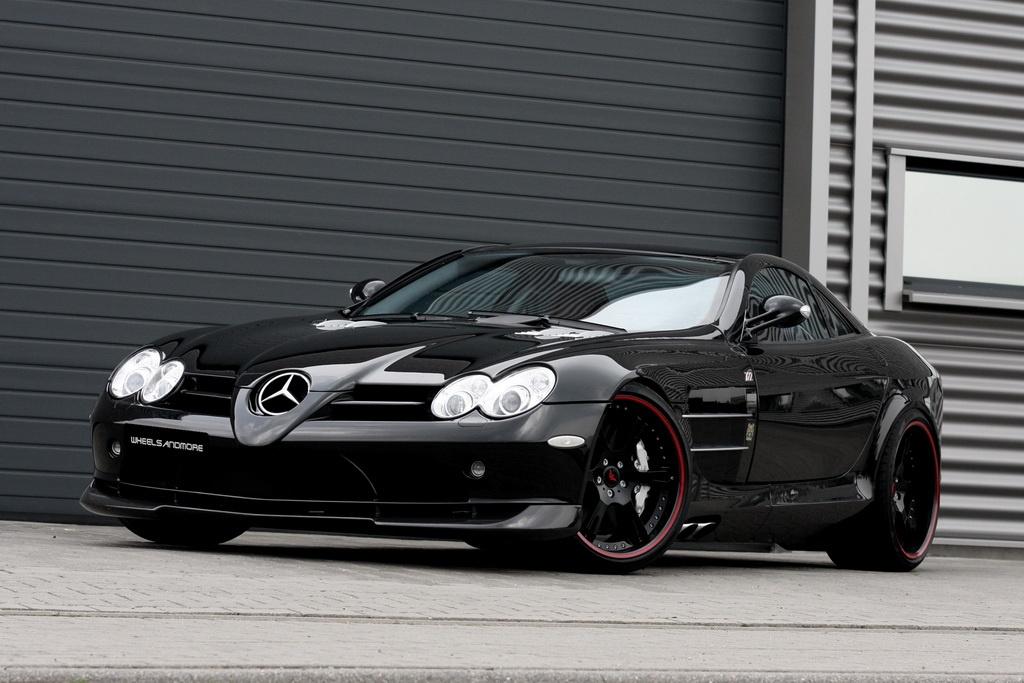 Mercedes Benz Slr Mclaren 7o7 Edition By Wheelsandmore