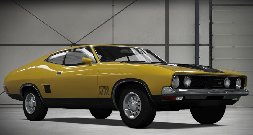 1973_Ford XB Falcon GT Forza & Forza 4 includes 1973 Ford XB Falcon GT and other Aussie muscle ... markmcfarlin.com