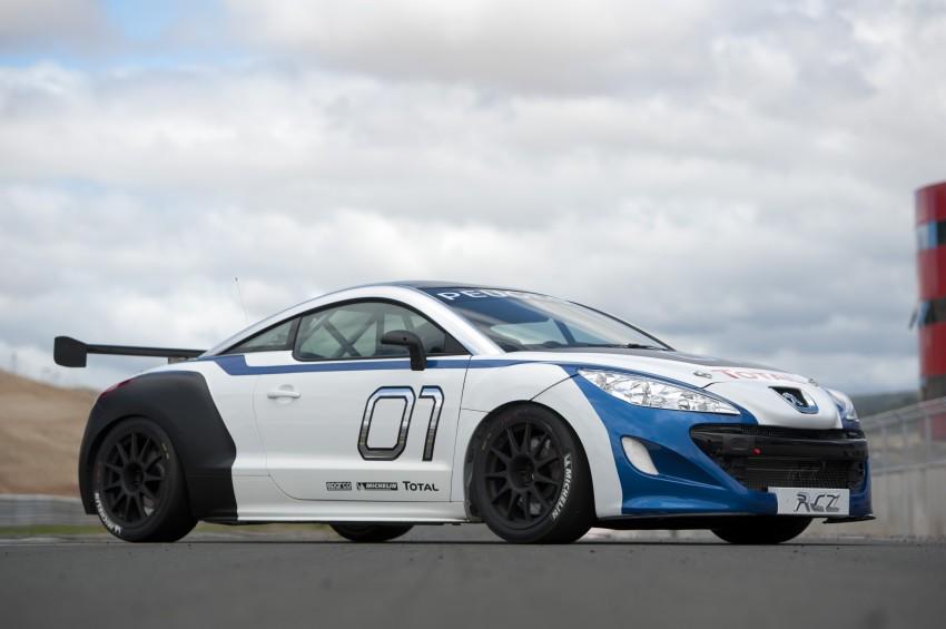 2012 Peugeot RCZ Cup series one-make race car revealed ...