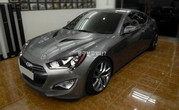 2013 hyundai genesis coupe to feature supercharged v6. Black Bedroom Furniture Sets. Home Design Ideas