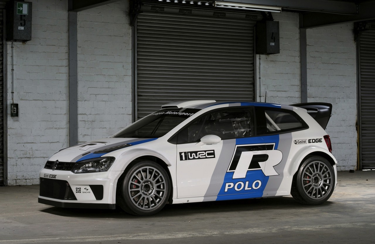 2013 volkswagen polo r wrc rally car unveiled at frankfurt show performancedrive. Black Bedroom Furniture Sets. Home Design Ideas