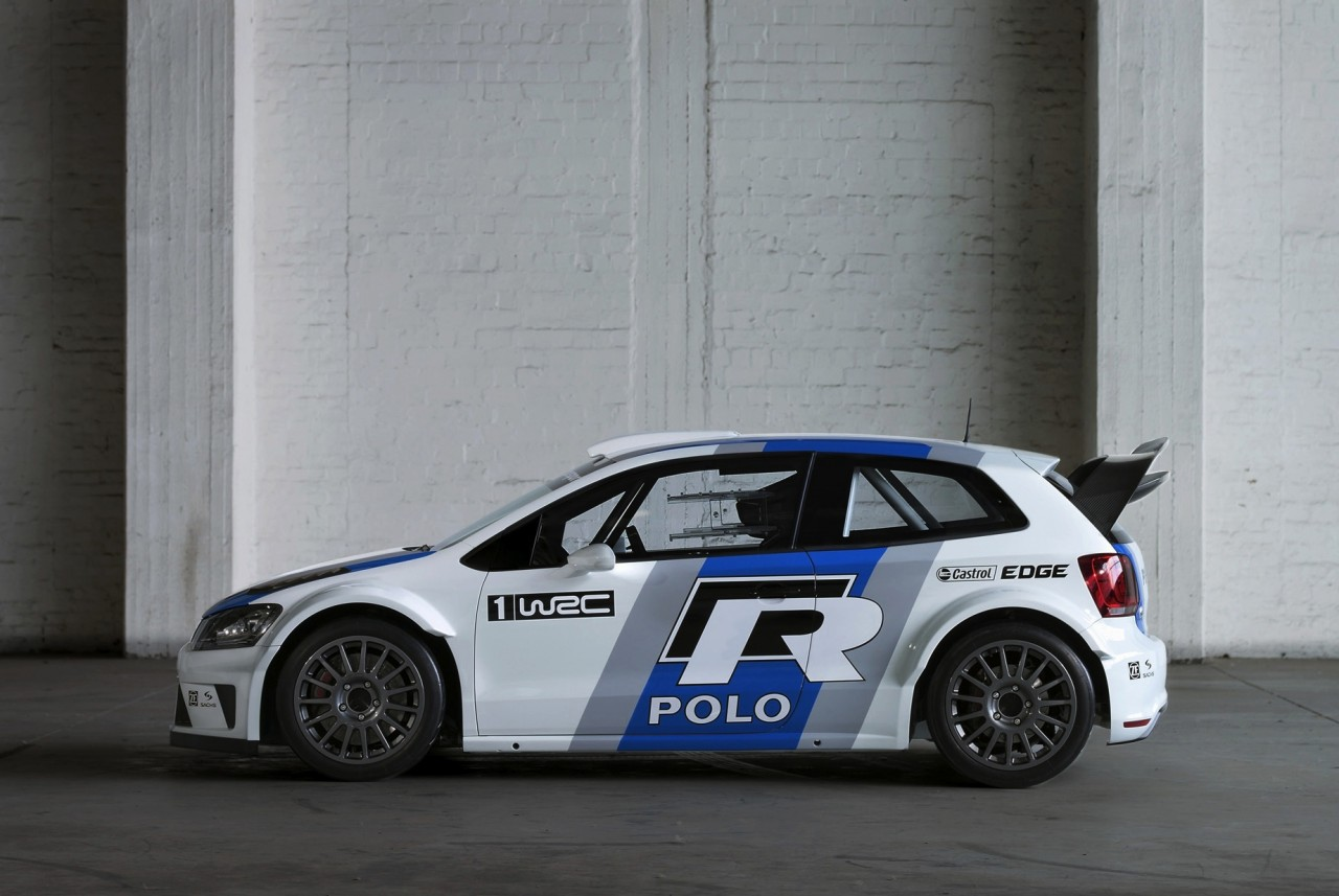 2013 volkswagen polo r wrc rally car unveiled at frankfurt. Black Bedroom Furniture Sets. Home Design Ideas