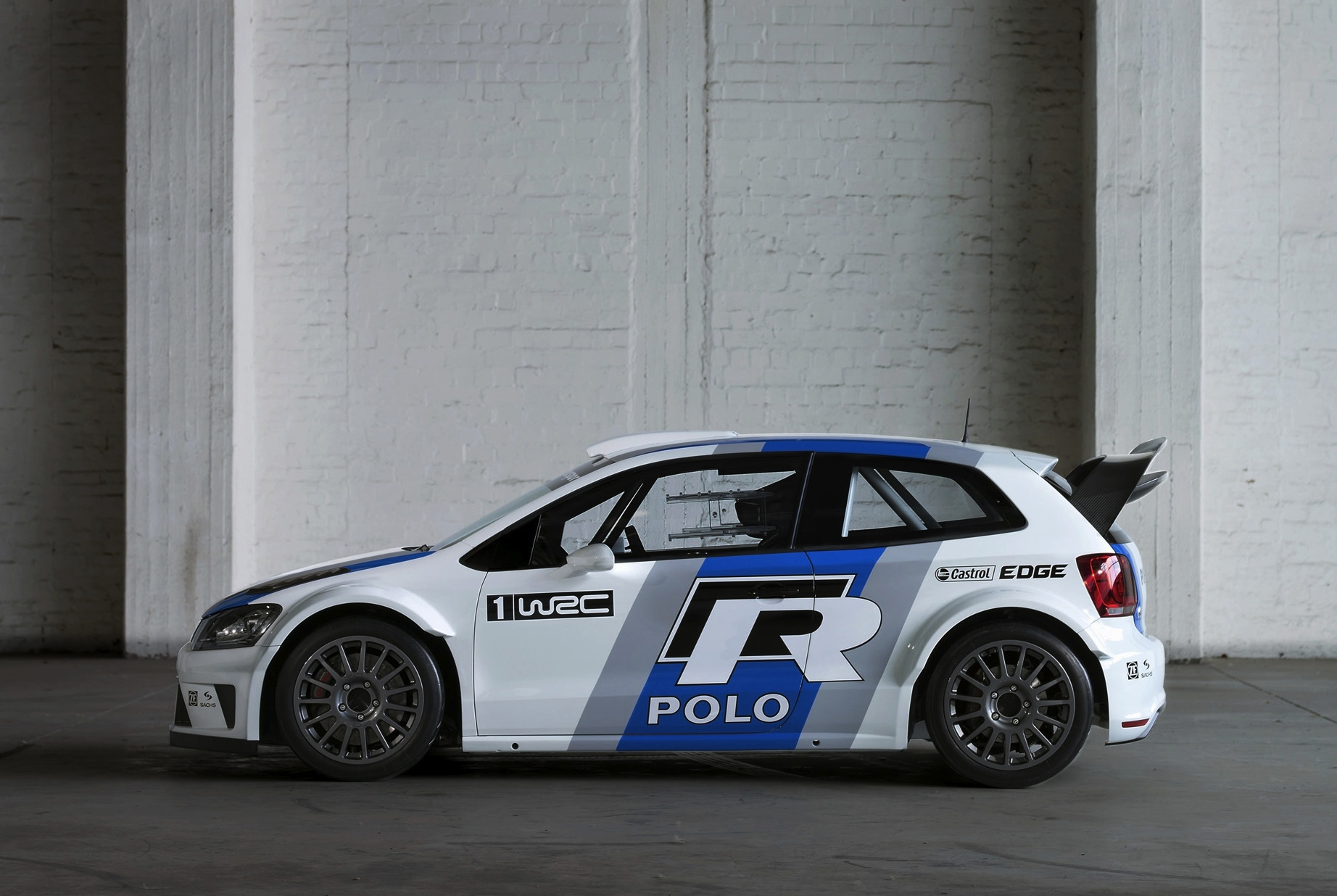 Volkswagen Polo R Wrc Rear 1600x1200 3 Of 41   Short Hairstyle 2013