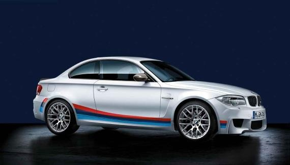 Bmw 1 Series M Coupe Stripe Package Joins M Performance