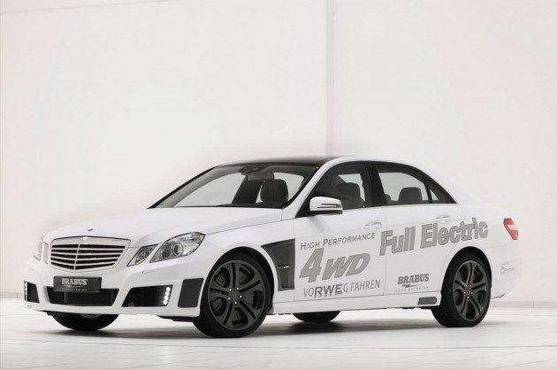 BRABUS High Performance 4WD Full Electric concept car revealed at Frankfurt