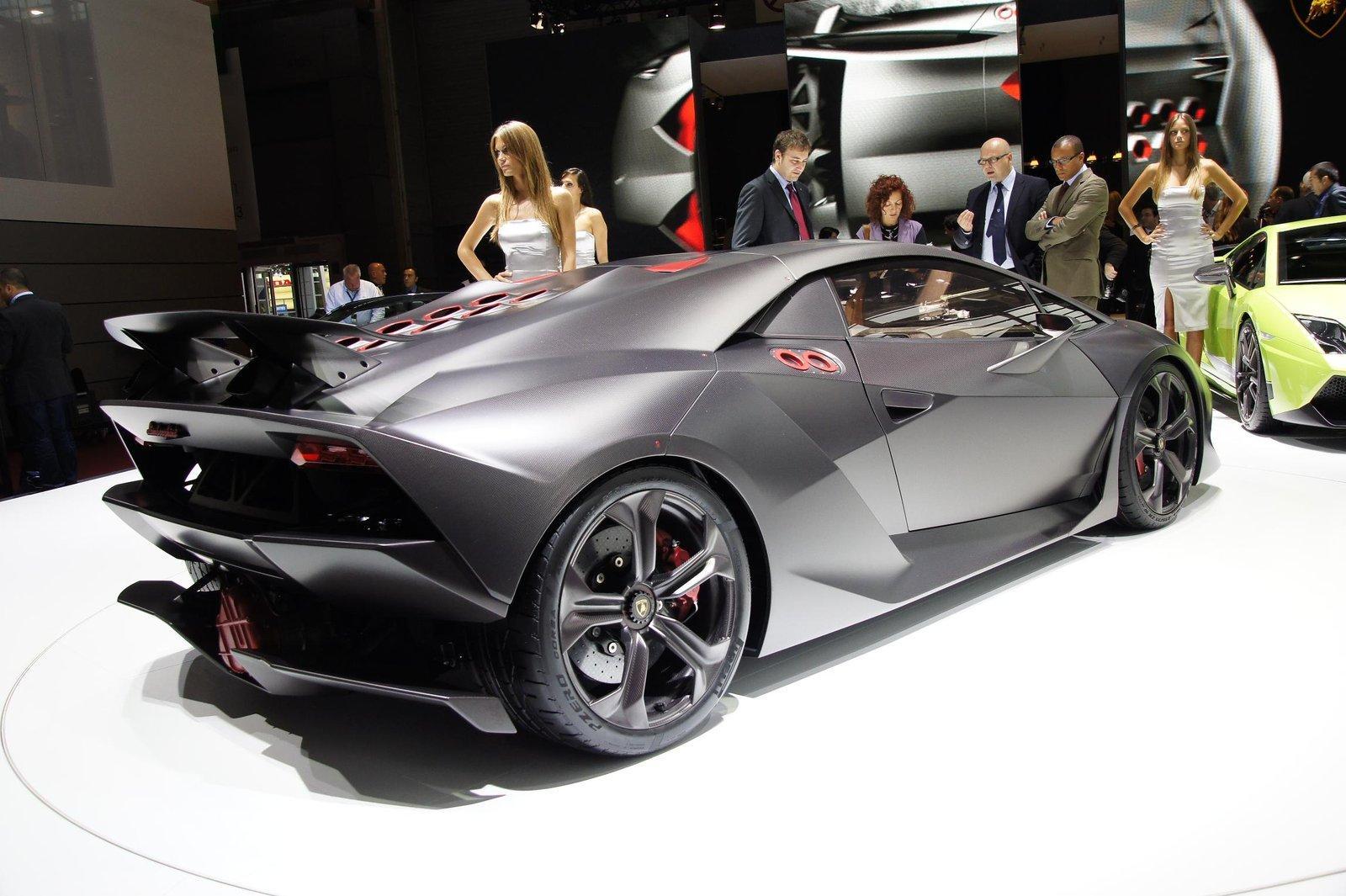 Mercedes Benz Suvs >> Lamborghini Sesto Elemento