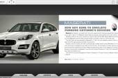 Maserati SUV leaked