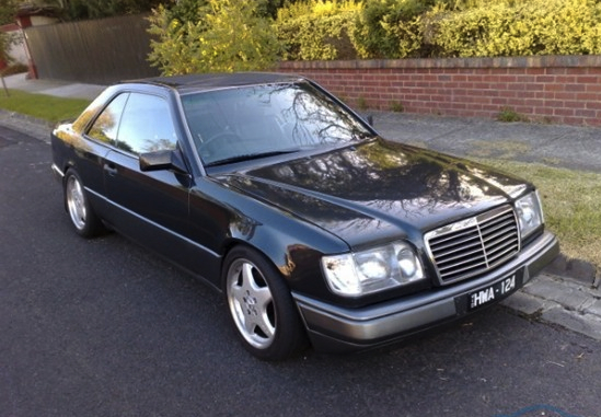 for sale mercedes benz 300 ce twin turbo conversion with 600hp performancedrive. Black Bedroom Furniture Sets. Home Design Ideas