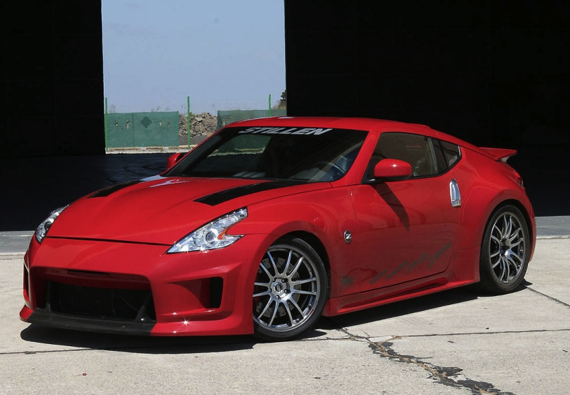 nissan 370z tuning kit by stillen with over 500hp. Black Bedroom Furniture Sets. Home Design Ideas