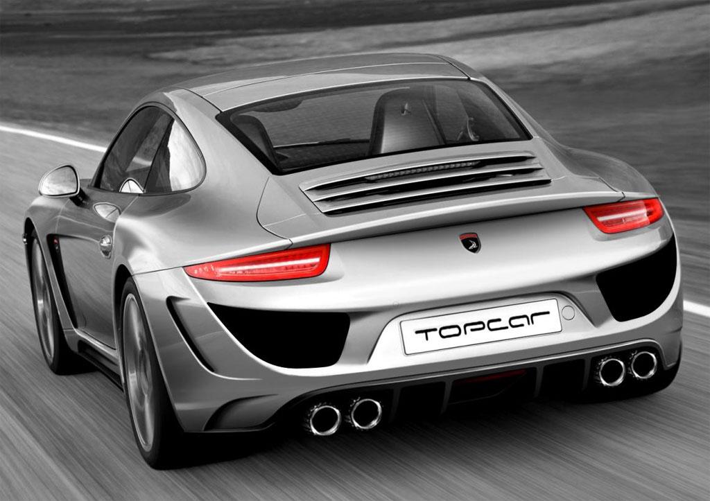 topcar 2012 991 porsche 911 aftermarket kit revealed. Black Bedroom Furniture Sets. Home Design Ideas