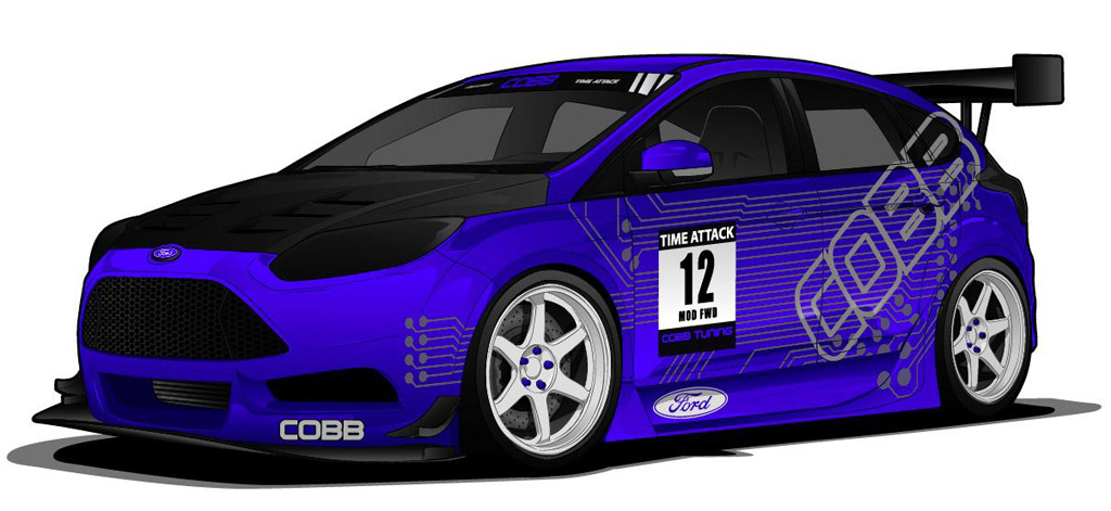 ford focus st and ford feista st customised cars set for. Black Bedroom Furniture Sets. Home Design Ideas