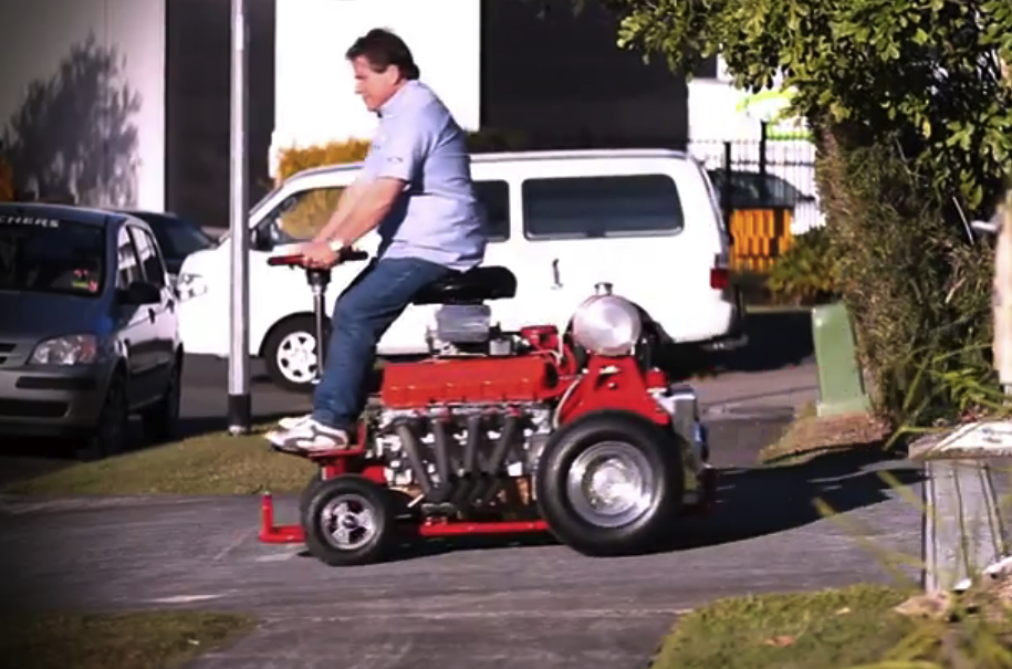 Video 480hp V8 Chev Bar Stool Add A Motor To It